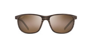 Maui Jim Dragons Teeth H811-25C HCL BronzeBrown Stripe