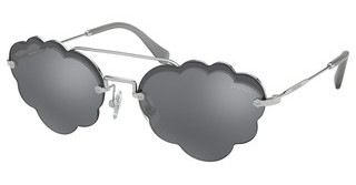 Miu Miu MU 57US 1BC175 DARK GREY FLASH SILVERSILVER