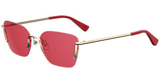 Moschino MOS054/S Y11/4S BURGUNDYGOLD RED