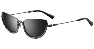 Moschino MOS070/S V81/T4 SILVER SPDKRUT BLK