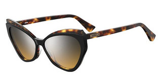 Moschino MOS081/S WR7/G4 BROWN MS SLVBLK HAVAN
