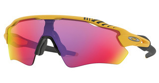 Oakley OO9208 920876 PRIZM ROADMATTE YELLOW