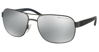 Polo PH3093 9157Z3 POLAR GREY MIRROR SILVERMATTE DARK GUNMETAL