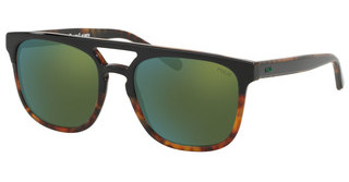Polo PH4125 52606R FLASH GREENTOP BLACK ON HAVANA JERY