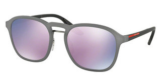 Prada Sport PS 02SS VHD5T0 DARK GREY MIRROR PINKOPAL GREY RUBBER