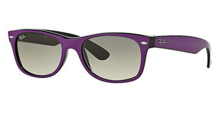 Ray-Ban RB2132 873/32 TOP CYCLAMEN ON BLACK CRYSTAL GREY GRADIENT