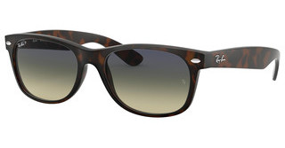 Ray-Ban RB2132 894/76 BLUE/GREEN POLARMATTE HAVANA