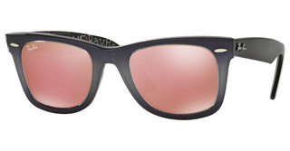 Ray-Ban RB2140 1201Z2 MIRROR COPPERTOP LIGHT GREY GRAD ON GREY