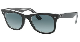 Ray-Ban RB2140 12943M GRADIENT BLUEBLACK ON TRASPARENT