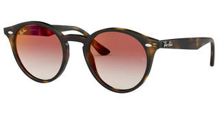Ray-Ban RB2180 710/V0 GRADIENT RED MIRROR REDHAVANA