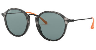Ray-Ban RB2447 124652 BLUE POLARGREY HAVANA