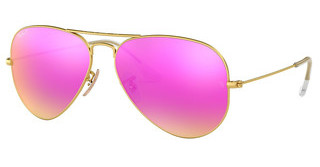 Ray-Ban RB3025 112/1Q BROWN MIRROR FUCSIA POLARMATTE GOLD