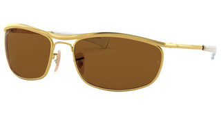 Ray-Ban RB3119M 001/57 BROWN POLARGOLD