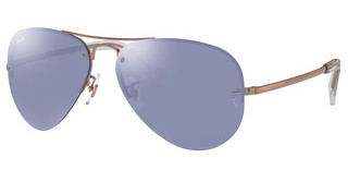 Ray-Ban RB3449 90351U COPPER