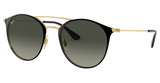 Ray-Ban RB3546 187/71 GREY GRADIENTGOLD TOP BLACK