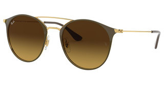 Ray-Ban RB3546 900985 BROWN GRADIENTGOLD TOP BROWN