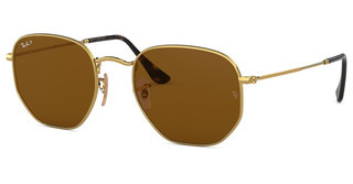 Ray-Ban RB3548N 001/57 POLAR BROWNGOLD