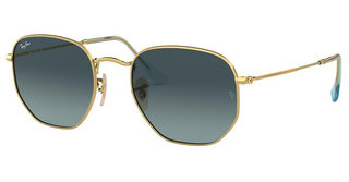 Ray-Ban RB3548N 91233M BLUE GRADIENT GREYGOLD