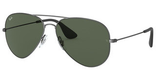 Ray-Ban RB3558 913971 DARK GREENMATTE BLACK ANTIQUE