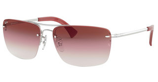 Ray-Ban RB3607 91280T CLEAR GRAD BORDEAUXSILVER