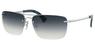 Ray-Ban RB3607 91290S CLEAR GRAD BLUESILVER