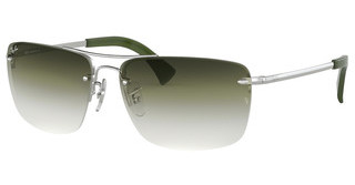 Ray-Ban RB3607 91300R CLEAR GRAD GREENSILVER