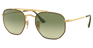 Ray-Ban RB3648 91034M GREEN GRADIENT GREENHAVANA