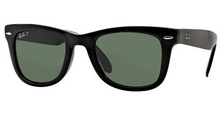 Ray-Ban RB4105 601/58 CRYSTAL GREEN POLARIZEDBLACK