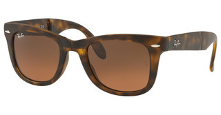 Ray-Ban RB4105 894/43 BROWN GRADIENT GREYMATTE HAVANA