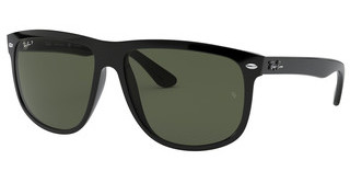 Ray-Ban RB4147 601/58 GREEN POLARIZEDBLACK