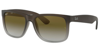 Ray-Ban RB4165 854/7Z GREEN GRADIENTRUBBER BROWN ON GREY