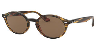 Ray-Ban RB4315 820/73 DARK BROWNSTRIPPED RED HAVANA