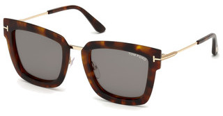 Tom Ford FT0573 55A grauhavanna bunt