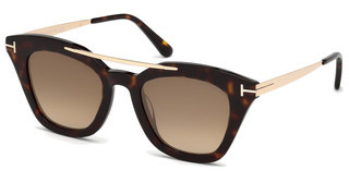 Tom Ford FT0575 52G braun verspiegelthavanna dunkel