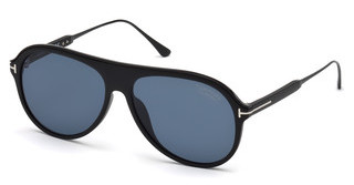 Tom Ford FT0624 02D grau polarisierendschwarz matt