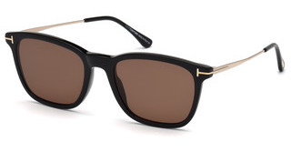 Tom Ford FT0625 01E braunschwarz glanz