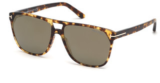 Tom Ford FT0679 56C grau verspiegelthavanna