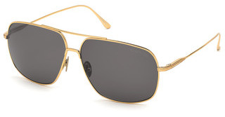 Tom Ford FT0746 30A grautiefes gold glanz