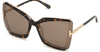Tom Ford FT0766 56J roviexhavanna