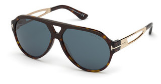 Tom Ford FT0778 52N grünhavanna dunkel