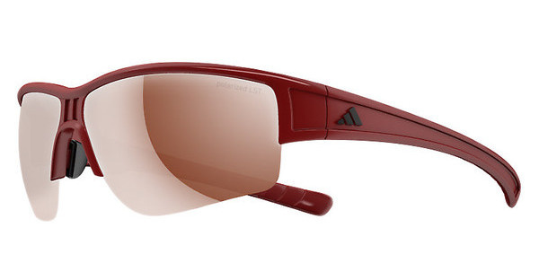 Adidas   A411 6060 LST polarized silver H+red