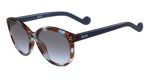 Liu Jo   LJ642S 423 BLUE BROWN CAMOUFLAGE