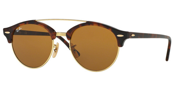 Ray-Ban   RB4346 990/33 BROWNSHINY RED HAVANA