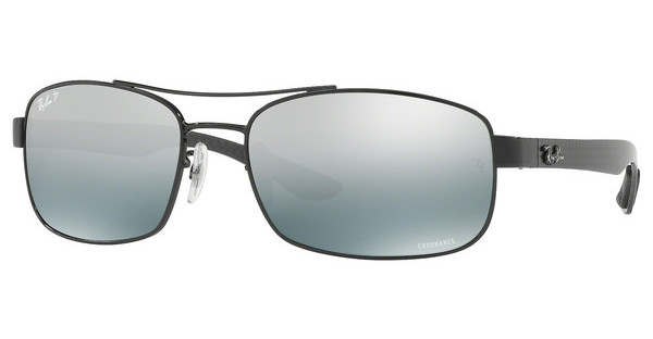 Ray-Ban   RB8318CH 002/5L BLUE MIR GREY GRADIENT POLARSHINY BLACK