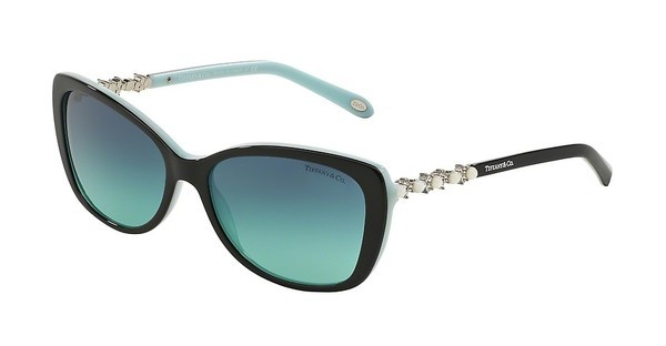Tiffany   TF4103HB 80559S AZURE GRADIENT BLUEBLACK/BLUE